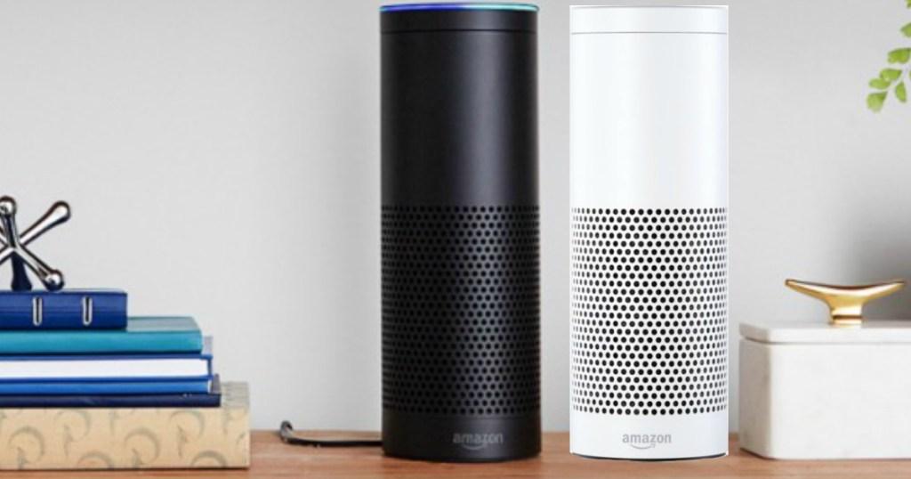 Amazon Echo on the counter