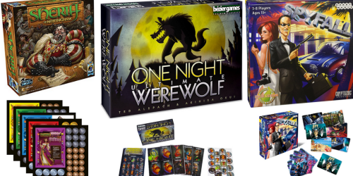 Amazon: Highly Rated Card & Board Games On Sale