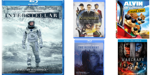 Amazon: Popular Blu-ray Movies ONLY $3.99 (Kingsman: The Secret Service & More)