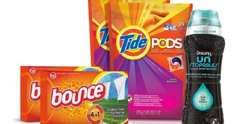 Stock up on Laundry Detergent from Home! Amazon Has HUGE Savings on Tide, Gain, Downy & More