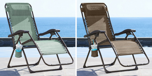 Kohl's: Sonoma Antigravity Chairs ONLY $33.99 (Regularly $139.99)