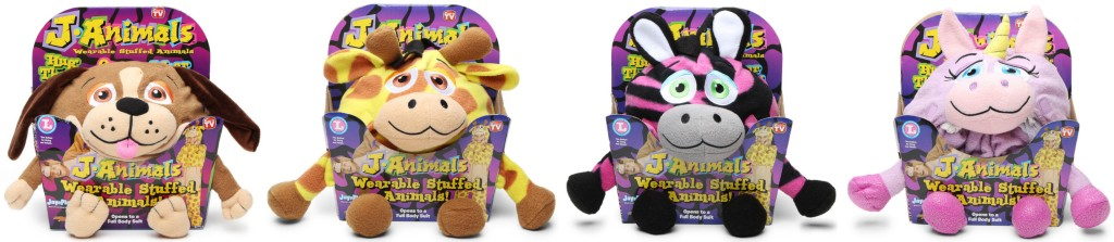 As Seen On Tv J Animals Wearable Stuffed Animals Only 10 Regularly