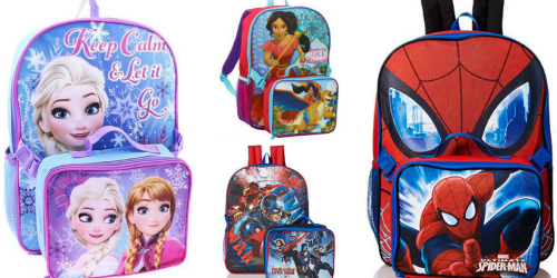 Disney & Marvel Backpack AND Lunch Kit ONLY $9 Shipped ($25 Value)