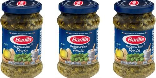 Walmart: FREE 6.3oz Jar of Barilla Traditional Basil Pesto (After $3 Ibotta Rebate)