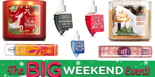 Bath & Body Works: $10 Off a $30 Order= 3-Wick Candles $11.16 Each Shipped