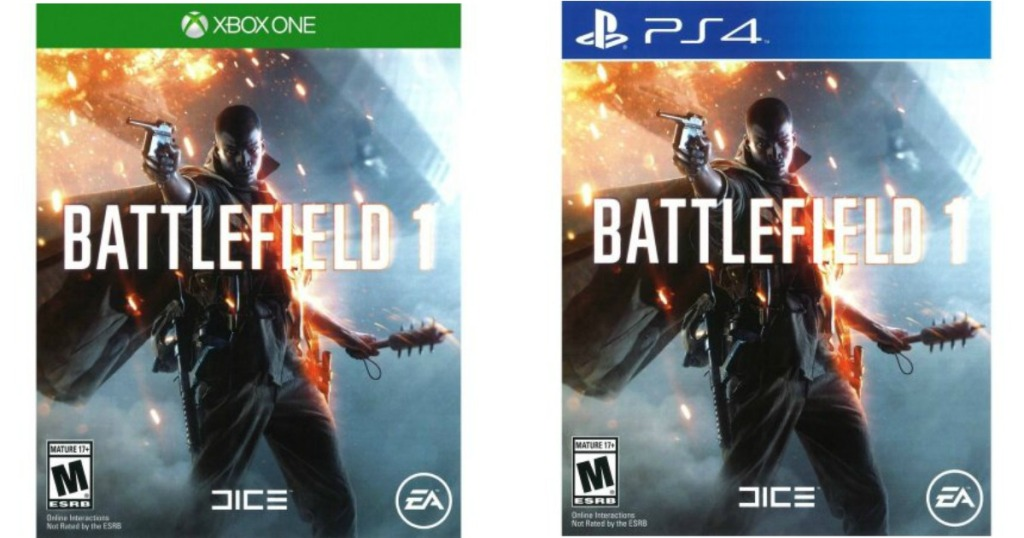 Walmart: Battlefield 1 for PlayStation 4 and Xbox One Only