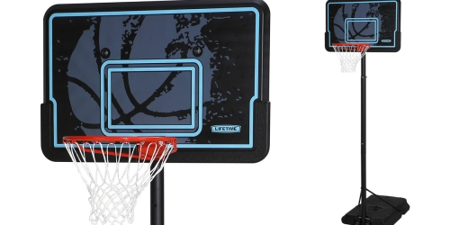 Walmart: Lifetime 44″ Portable Basketball System ONLY $69 Shipped (Regularly $149.99)