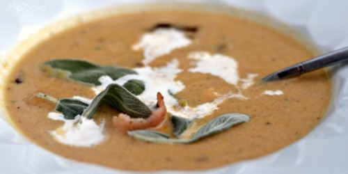 Savory Butternut Squash Soup Recipe