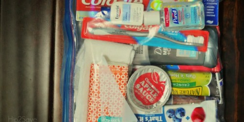 "Make DIY ""Blessing Bags"" for People who are Homeless"
