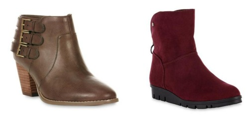 Sears: 25% Off Clothing, Shoes & More = Women's Boots Only $14.99 (Regularly Up To $59.99)