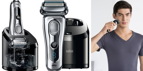 Braun Series 9 Electric Shaver w/ Cleaning Center Only $203.09 Shipped (Regularly $330)
