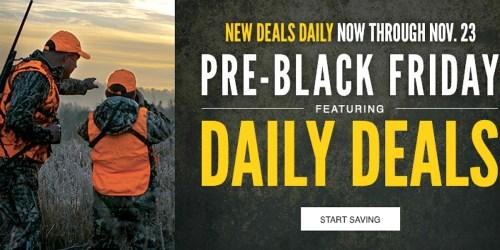 Cabela's.com: Pre-Black Friday Deals = $9.99 Catch-All Gear Bags (Regularly $24.99) + More