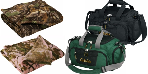 Cabela's: Catch-All Gear Bags for $9.99 Shipped (Regularly $24.99)