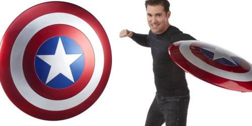 Amazon: Marvel Full-Size Captain America Shield Only $60.42 Shipped (Regularly $99.99)