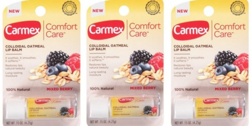 Walgreens: Carmex Comfort Care Lip Balm Only 4¢ (After Ibotta)