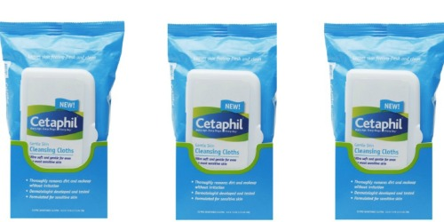 High Value $5/2 Cetaphil Product Coupon = Cleansing Wipes Only $1.09 at Target (11/22 Only)