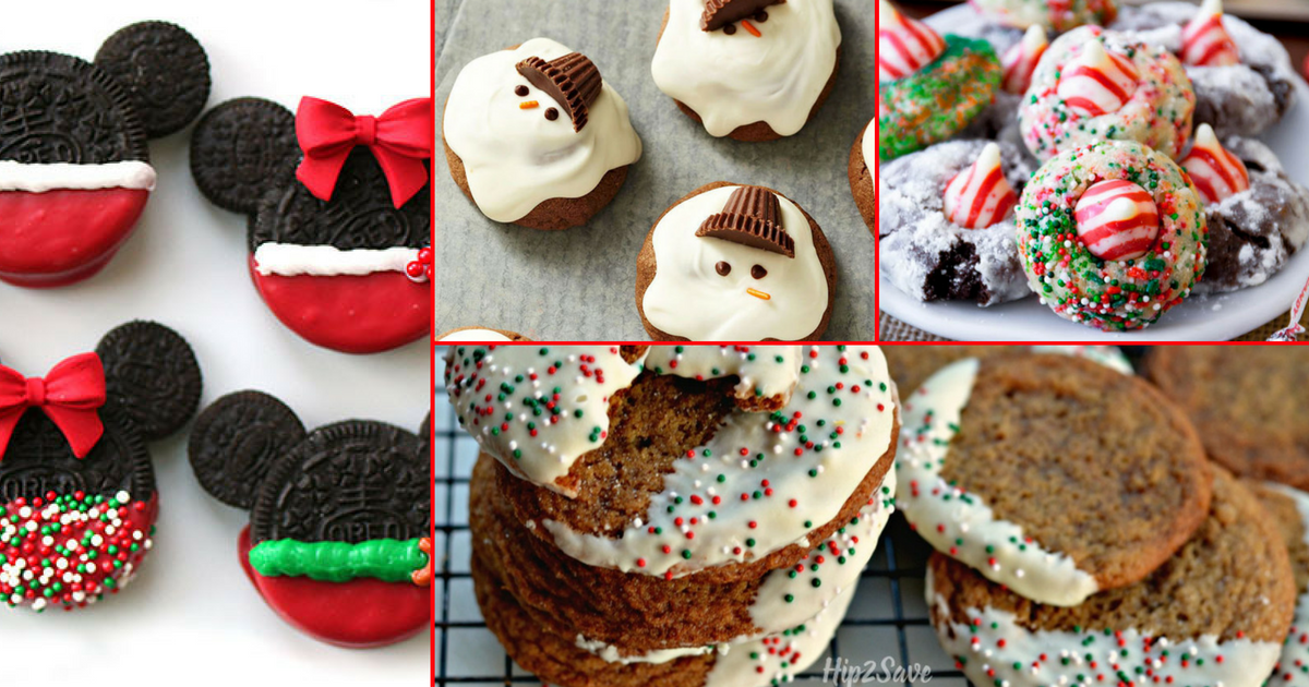 Christmas Cookie Recipes Easy.Santa Approved Easy Christmas Cookie Recipes From Around The