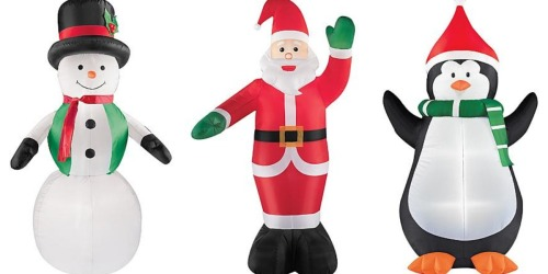 Sears: FREE 6-Foot Airblown Snowman, Santa or Penguin (After Shop Your Way Points!)