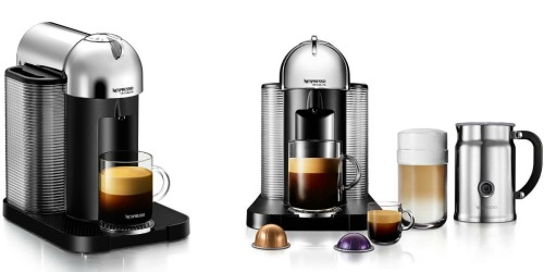 Amazon: Nespresso Coffee & Espresso Maker With Milk Frother Only $160.10 (Regularly $249)