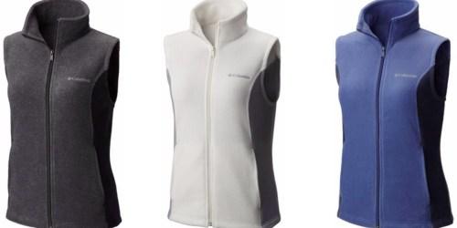 Columbia Women's Sawyer Rapids Fleece Vest Only $18 Shipped (Regularly $45)
