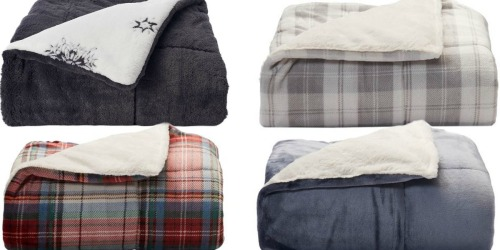 Kohl's: Cuddl Duds Cozy Soft Throws Only $16.99 (Regularly $59.99)