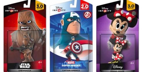 ToysRUs: Disney Infinity Figures Buy 1 Get 3 FREE = Only $3.75 (Reg. $14.99) + $9.99 Starter Packs