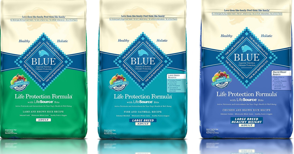 Blue Buffalo Dog Food 30 Pound Bags Only 39 99 Regularly 61 Hip2save
