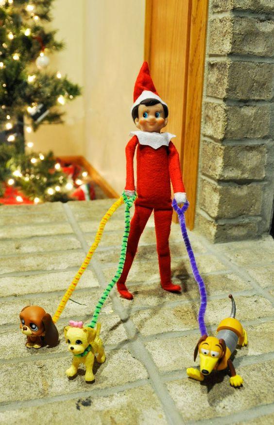 dog-walking-elf