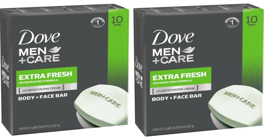 Dove mens care bar 10 pack