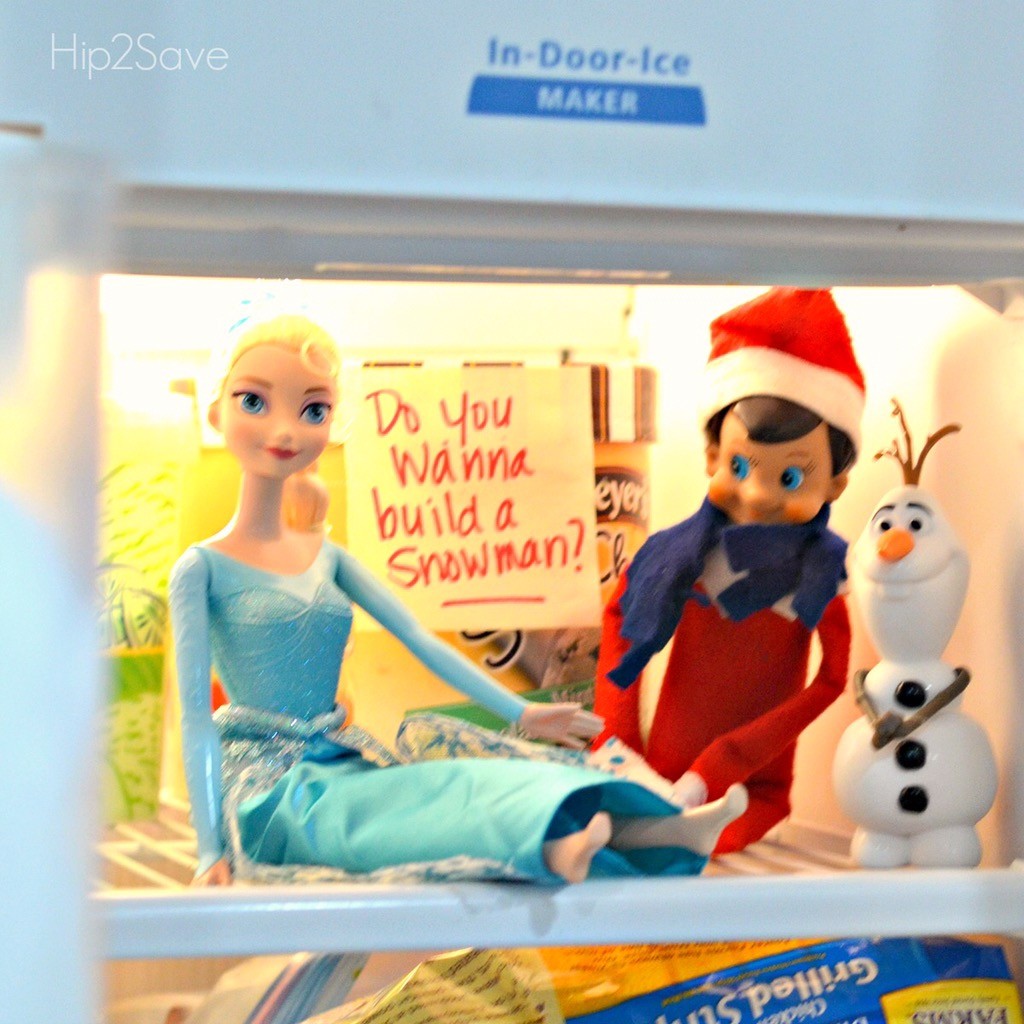 elf-on-the-shelf-building-a-snowman