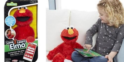 Playskool Sesame Street Love2Learn Elmo Only $31.29 (Regularly $69.99)