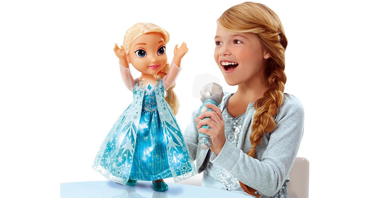 Kmart Disney S Frozen Sing A Long Elsa Doll Only 16 79