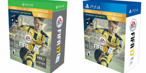 Best Buy: FIFA 17 Deluxe Edition w/ Limited Edition Scarf Only $39.99 Shipped (Regularly $89.99)