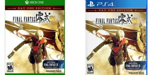 Target: Final Fantasy Type-0 HD for Xbox One and PlayStation 4 Only $8 Shipped (Regularly $18.99)