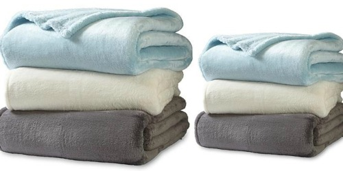 Sears: Colormate Fleece Blanket – ALL Sizes ONLY $10.39 (Regularly up to $39.99)