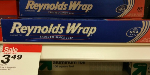 Target: Reynolds Wrap Only $2.04 (Regularly $3.99)