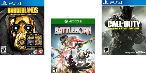 Sweet Deals on Video Games Including Call of Duty, Borderlands & More