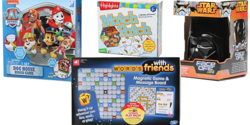 Hollar.com: Board Games & Card Activities Only $2-$10 (Star Wars, Paw Patrol & Many More)