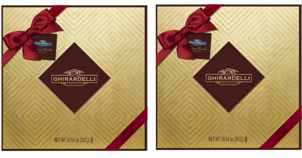 Target Big Ghirardelli Gift Boxes Only 4 49 Each Regularly 9 99
