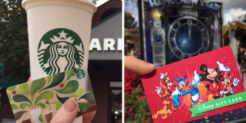 Disney Movie Rewards Members: $10 Starbucks Or Disney Gift Card Only 1,100 Points