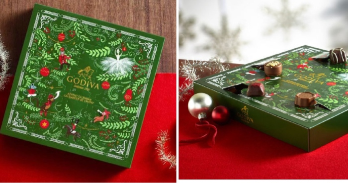 Godiva Advent Calendar.Godiva 25 Piece Chocolate Advent Calendar Only 17 50 Shipped