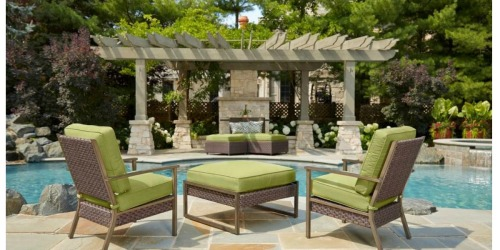 Home Depot: Huge Discounts on Select Hampton Bay Patio Furniture Items