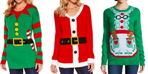 JCPenney: Up to 33% Off Online Orders = Holiday Sweaters AND Women's Boots Only $14.99 Each