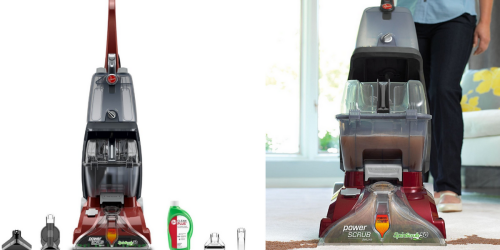 Amazon: Hoover Deluxe Carpet Cleaner Only $80 Shipped (Regularly $219.99)