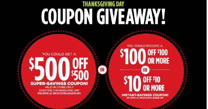 JCPENNEY GIVEAWAY JANUARY 2019