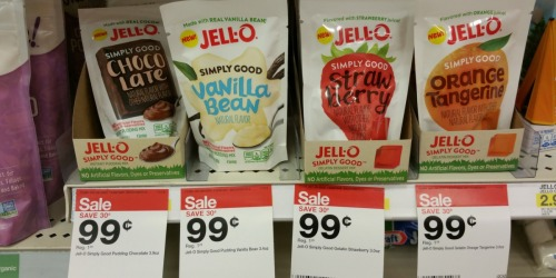 Target: Jell-O Simply Good Desserts Only 12¢ Each (After Checkout51)