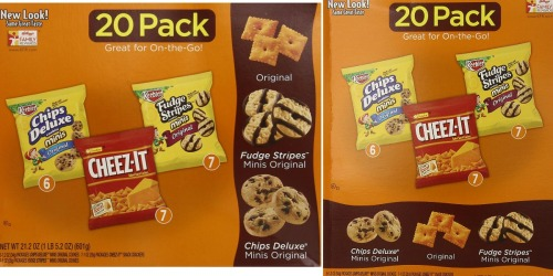 Amazon: Keebler Cookie and Cheez-It Variety 20-Pack Only $4.89 Shipped