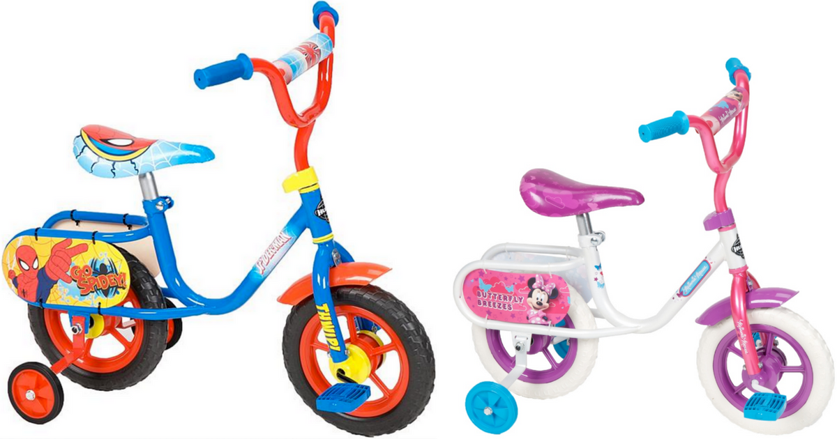 7a81d4ad52e Kmart: Marvel & Disney Kid's Bikes w/ Training Wheels ONLY $19 (Regularly  $49.99) - Hip2Save
