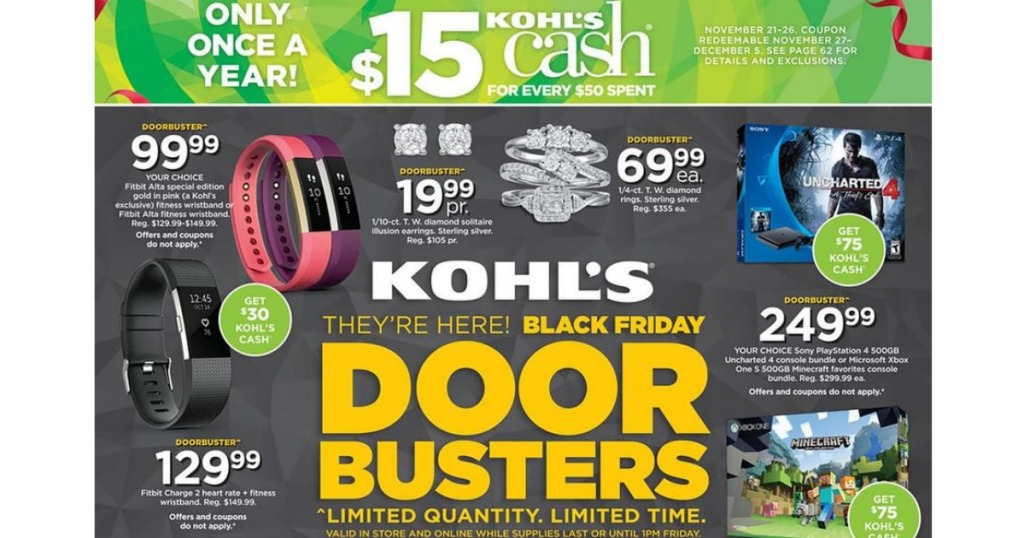 65e4eb8edfb Kohl's: Black Friday Ad Scan Has Been Leaked - Hip2Save