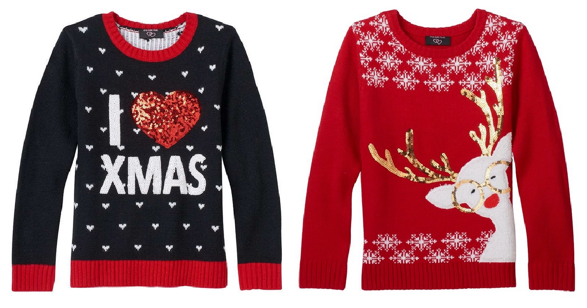 Kohl\u0027s Ugly Christmas Sweaters As Low As $7.99 (Regularly